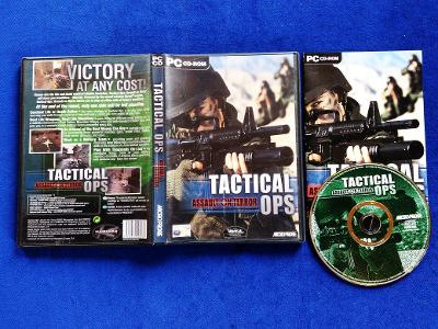 PC - TACTICAL OPS ASSAULT ON TERROR (retro 2002) Top