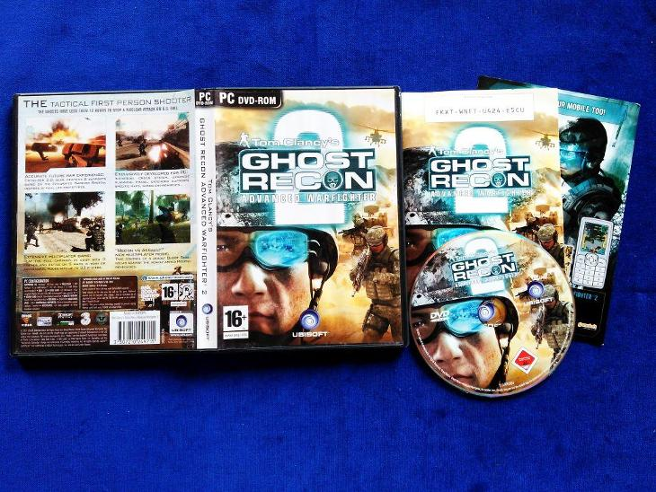 PC - TOM CLANCY´S GHOST RECON ADVANCED WARFIGHTER 2 (retro 2007) Top - Hry