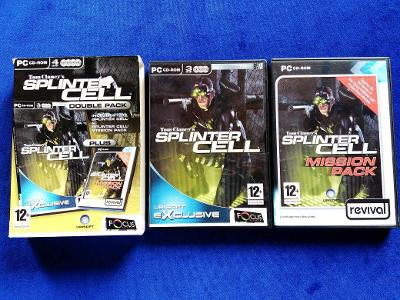 PC - TOM CLANCY´S SPLINTER CELL DOUBLE PACK (retro 2002) Top