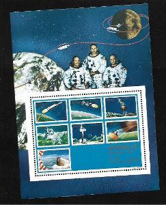 Somálsko - Apollo - známky na známce **