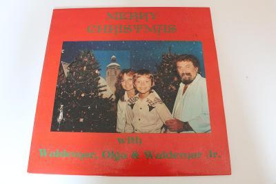 Waldemar Matuška - Merry Christmas with Olga -top stav- ČSR 1990 LP
