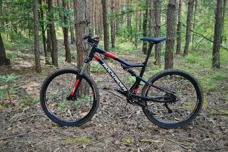 Celoodpružené kolo Rockrider ST 530 S - Cyklistika
