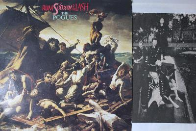 The Pogues – Rum Sodomy & The Lash LP 1985 vinyl Irish Folk Rock