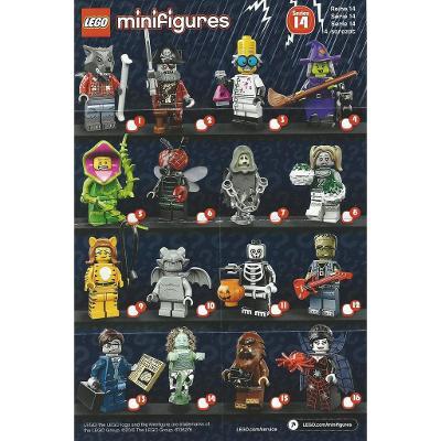 LEGO 71010  16 minifigurek 14. série Monster