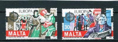 EUROPA CEPT Malta Mi 661-2**