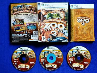 PC - ZOO TYCOON 2 ULTIMATE COLLECTION (retro 2008) Top