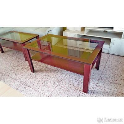 Konferenční stůl 80x130, výška 60 cm, nové zboží