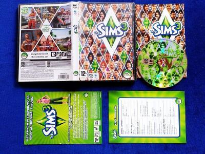 PC - THE SIMS 3 - CZ - (retro 2009) Top