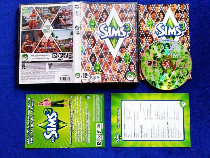 PC - THE SIMS 3 - CZ - (retro 2009) Top - Hry