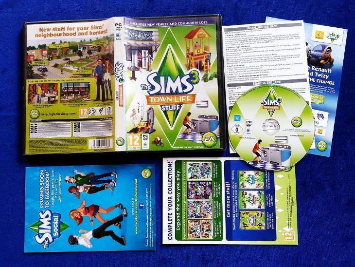 PC - THE SIMS 3 TOWN LIFE - MOJE MESTEČKO (retro 2011)Top - Hry