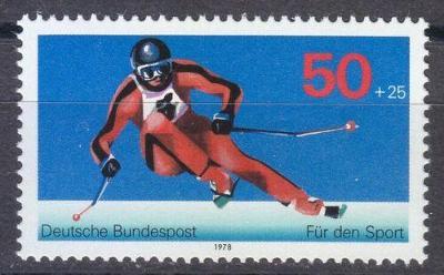 Německo 1978 Lyžování Mi# 958 0434