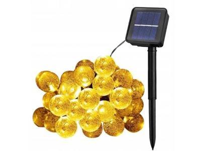SOLÁRNÍ ZAHRADA ZÁVĚSNÁ ZAHRADA 20 LED koulí + dárek