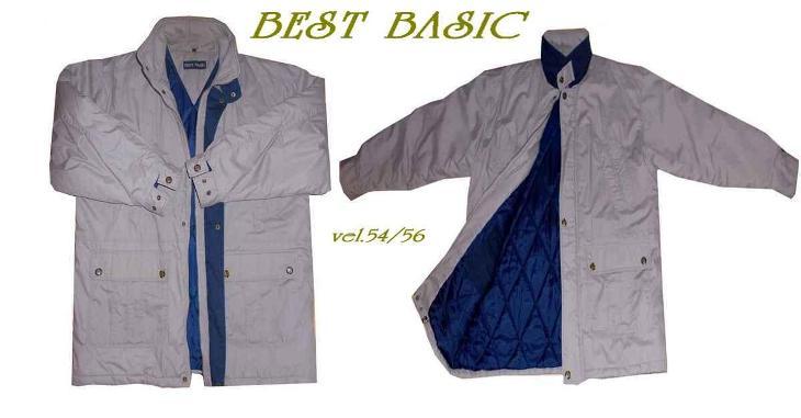 VELMI PĚKNÁ ZNAČKOVÁ ZIMNÍ BUNDA - BEST BASIC-- vel. 54 - Pánské oblečení