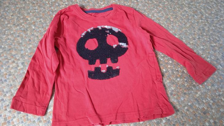 triko s měnícím se obrázkem, dávám do vel.104 - Oblečení