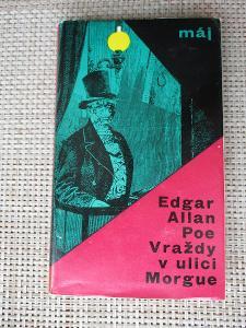 Poe Edgar Alan - Vraždy v ulici Morgue (1. vydání)