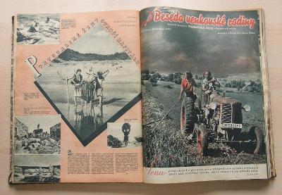 Beseda venkovské rodiny * 1949 * 1. ročník * starý obrázkový časopis