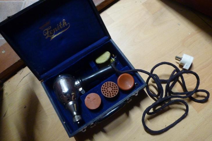 Vibrofix patent Zenith - 1930 tá léta masážní strojek stary přístroj - Starožitnosti