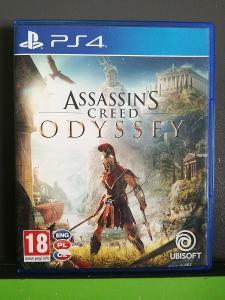 Assassins Creed: Odyssey CZ (PS4) - kompletní, jako nová