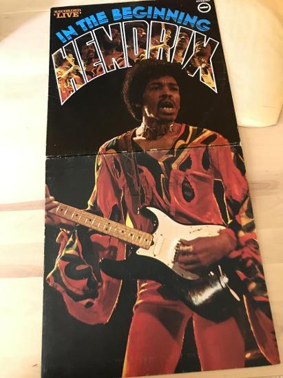 JIMI HENDRIX in the beginning UK NM 1PRESS 1973 - Hudba
