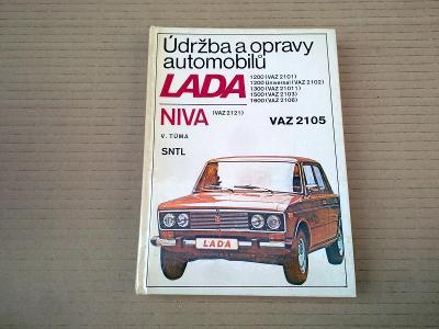 Lada Vaz 1200 1300 1500 1600 Niva - Údržba a opravy 1984