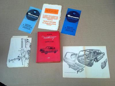 Wartburg - Pomož si sám opravy a údržba 1974