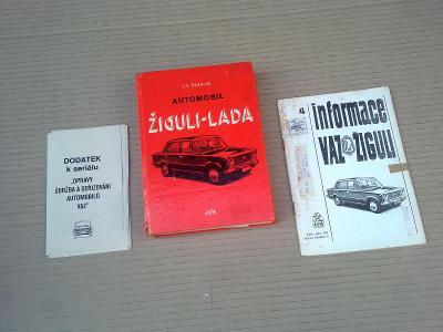Žiguli Lada - údržba a opravy + dodatek + reklamní informace 1975