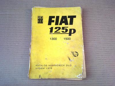 Fiat 125P 1300 1500 Katalog ND MOTOTECHNA  1976