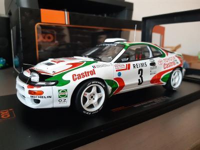 Toyota Celica Turbo 4WD (ST185)  #3 D.Auriol  Winner RMC 1993 1:18 IXO