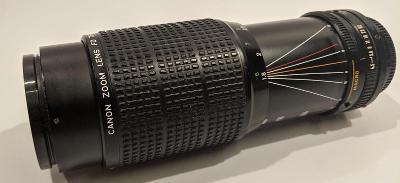 Objektiv Canon FD 75-200mm 1:4.5 MACRO