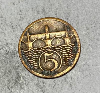 5 haléřů 1927