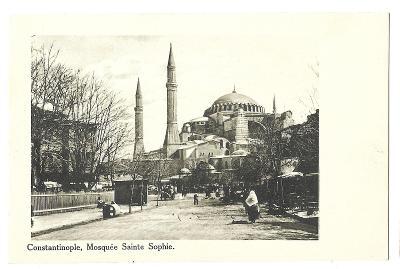 Pohlednice, Istanbul, Turecko, MF, 29/72