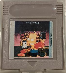 HRA Nintendo Game Boy The Simpsons: Bart vs. the Juggernauts GAMEBOY