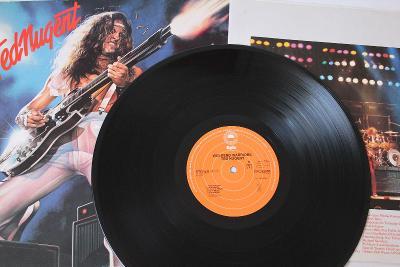 Ted Nugent – Weekend Warriors LP 1978 vinyl NL 1.press super stav EX
