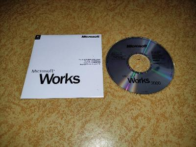 Microsoft Works 2000 - německá verze