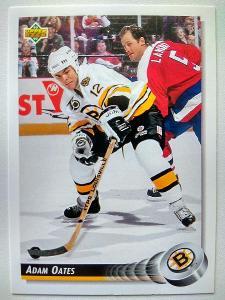 Adam Oates #133 Boston Bruins 1992/93 Upper Deck