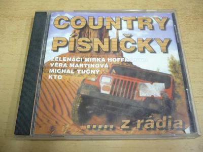 CD COUNTRY PÍSNIČKY ...z rádia
