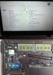 "14"" kovový profi HP 840 G2 Core i5 W10 8GB RAM nový! 160GB HDD dockina"