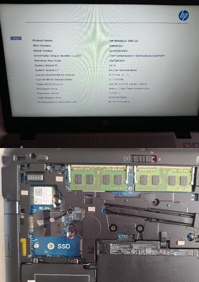 """14"""" kovový profi HP 840 G2 Core i5 W10 8GB RAM nový! 160GB HDD dockina - Notebooky, příslušenství"""