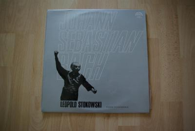 LP deska Johann Sebastian Bach - Leopold Stokowski