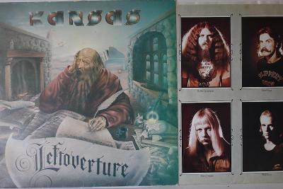 Kansas Leftoverture LP 1977 vinyl NL 1.press super stav EX+ Prog Rock