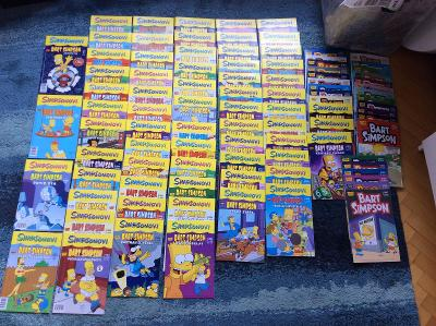 Simpsonovi / Bart Simpson ( komplet od čísla 1. 2013 až 6. 2021 /94 ks