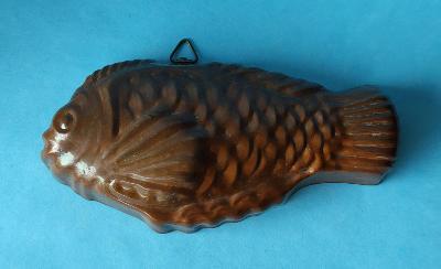 FORMA ryba měď cínovaná na pečení i na stěnu značená viz foto