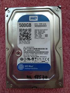 Pevný disk 500GB SATA Western Digital WD5000AAKX