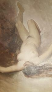 AKT, Josef Mathauser č. 2, olej na kartonu, 38,5 x 29,5 cm bez rámu