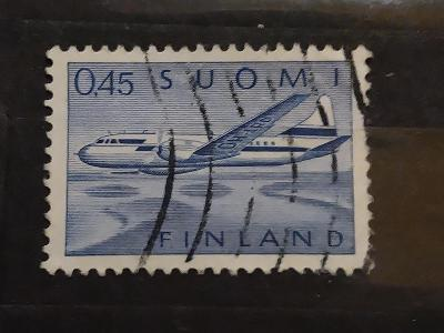 Finsko, letadlo, convair 440