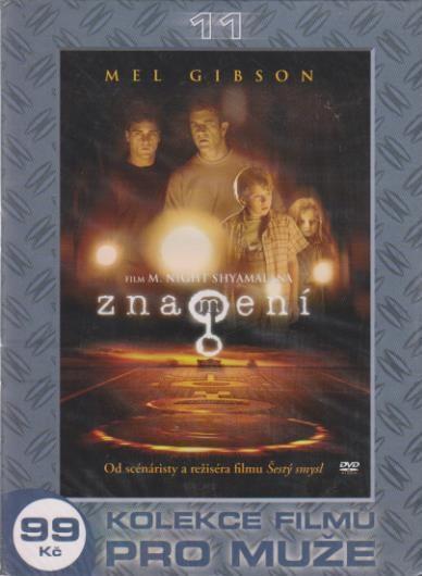 DVD - Znamení (Mel Gibson)