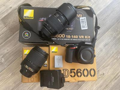 Nikon D5600 + Nikon 18-140 DX VR