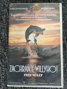 Zachraňte Willyho! 1 Free Willy VHS
