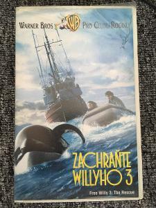 Zachraňte Willyho 3 Free Willy 3 VHS