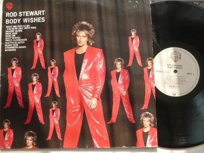 Original LP: Rod Stewart- Body Wishes/ Baby Jane WB 1983 perfekt st
